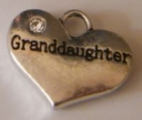 Granddaughter Personalised Wine Glass Charm